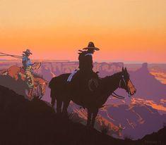 bill schenck artist | Billy Schenck: western pop-art and modern western paintings ...