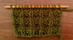 Example of the Waffle Stitch