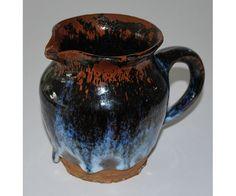 Arne Ranslet Jug in glazed Stoneware . 1960ties (Pharyah)