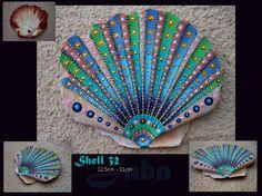 https://www.etsy.com/shop/Jabashop unique handpainted ocean shell by Jaba