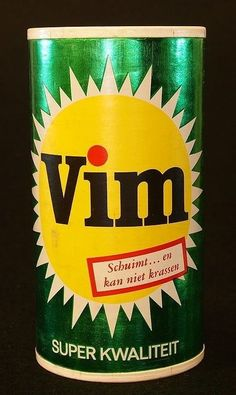Vim Vintage Packaging, Vintage Labels, Vintage Ads, Vintage Posters, My Childhood Memories, Sweet Memories, Viria, Typography Images, Good Old Times