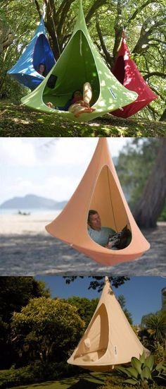 Hanging Cocoon Private Hammock @thistookmymoney