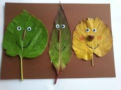 Leaf People | 13 Outdoor Art Projects For Kids To Make