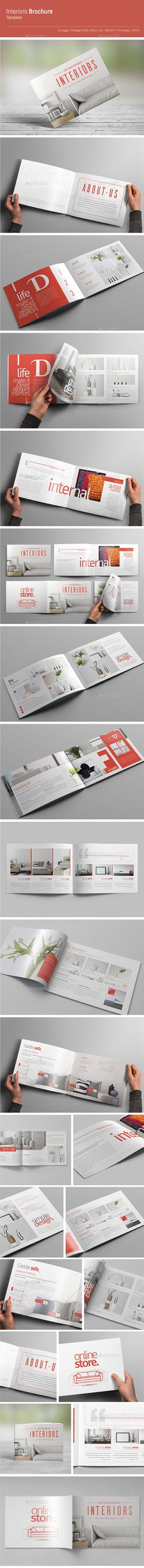 A5 Booklet - Catalogue  #design #portfolio #InDesign #8.2677x5.8268 • Click here to download ! http://graphicriver.net/item/a5-booklet-catalogue/16006713?ref=pxcr