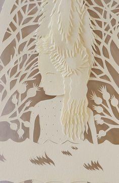 Elsa Mora Paper Art.