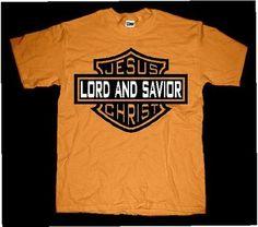 Jesus Lord And Savior Bar And Shield T-shirt 15.99 plus s/h