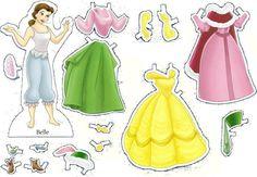 Casinha de Criança: Bonecas para Vestir