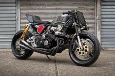 Road Bomber: Bad Seeds' brutal Honda CBX | Bike EXIF