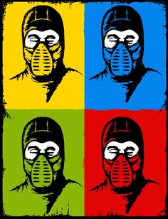 I need this for my wall. Mortal Kombat #art