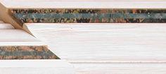 chair rail molding Verde Fuoco-- Green Lagoon