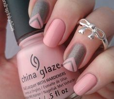 Pretty in Pink Nail Art Designs Ideas For 2018