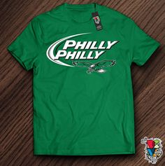3d55356489db Philly Philly Shirt | 2018 NFC Champions Shirt | Superbowl LII Shirt |  Underdog Tee | Philadelphia Eagles Shirt | Kelly Green Unisex T Shirt ONLY  $22.00 #ad ...
