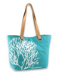 So awesome.  Coral tote from Tommy Bahama.  Great to take around town while on vacation. #TravelwithHSN