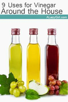 9 Uses for Vinegar Around the House