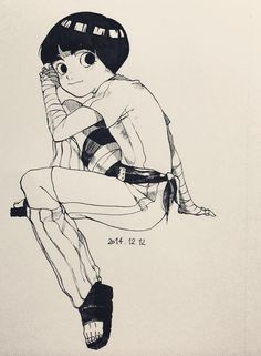 Rock Lee, one of my favs