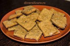 Chef Adelina ne propune astăzi o rețetă de crackers cu semințe, o gustare crocantă pentru cei mici și, bineînțeles și pentru cei mari.