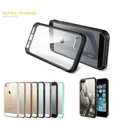 30% OFF -SGP Ultra Hybrid Case For iPhone 5 5S, Spigen Mobile Phone Bags Cases For Apple iPhone 5s iPhone 5 Case