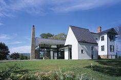 modern farmhouse via Design Crush
