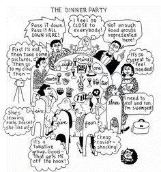 enneagram dinner party
