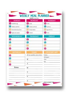 Looking for a what's for dinner template for easy meal planning while on the move? This free editable printable meal planner template will do just that for you. It is a simple, and cute blank pdf template with a clean layout to plan weekly family meals on a budget. Get your free downloadable menu planner from smartmommylife.com #mealplanning #mealplanner #menuplanner #editablemealplanner  #mealplanner #weeklymealplanner #freeprintable #grocerylist #menuplanner #dinnerplanner #mealplanner