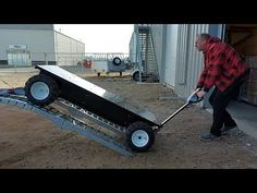38023 Loading into Pickup Truck Truck Boxes, Electric Utility, Welding Cart, Pick Up, Pickup Trucks, Tool Box, Pug, Outdoor Power Equipment, Pallet