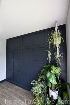 Wall paneling How to Make a Statement Panel Wall using Adhesive - From Evija with Love Selecting The Wood Panel Walls, Wall Paneling Diy, Feature Wall Living Room, Home, Home Remodeling, Living Room Wall, Bedroom Wall, Wall Paneling, Dark Walls