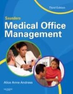 Saunders Medical Office Management, 3e by Andress CCS-P CCP NEW
