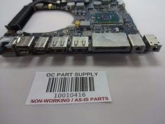 Apple 2010 MacBook Pro A1286 Logic Board 820-2850-A 2.4ghz AS-IS for parts