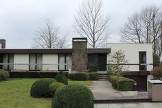 Flickr User GoPat has a load of houses  - 50's/60's/70's which I love! Taken all over Belgium
