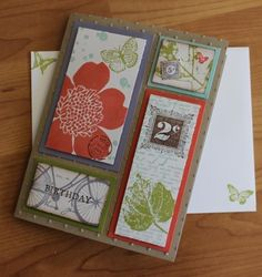 Stampin' Up Card!    -                                        I sure like this layout!