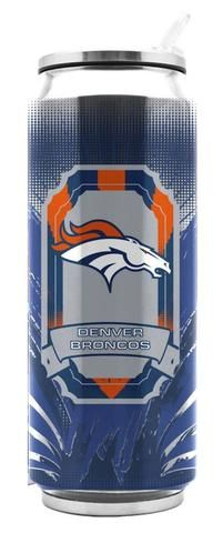 Denver Broncos Stainless Steel Thermo Can - 16.9 ounces #DenverBroncos