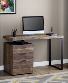 Home Office Furniture: Choosing The Right Computer Desk Home Office Setup, Cheap Office Furniture, Desk Furniture, Office Table Design, Home Office Design, Home Office Furniture Design, Desk Design, Computer Desk Design, Furniture Design