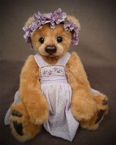 Miss Sunshine Mill Creek Creations My Teddy Bear, Cute Teddy Bears, Bear Toy, Stuffed Animals, Tedy Bear, Bear Gallery, Christmas Teddy Bear, Boyds Bears, Love Bear
