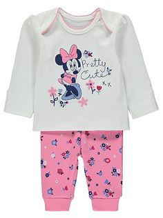 Disney Minnie Mouse Pyjamas, read reviews and buy online at George at ASDA. Shop from our latest range in Baby. These pyjamas aren't just 'pretty cute', they...