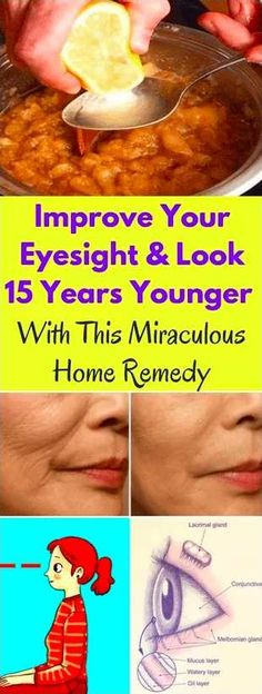 Improve Your Eyesight And Look 15 Years Younger With This Miraculous Home Remedy – BS/U