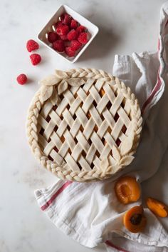 Braided Lattice Leaf Pie  - CountryLiving.com