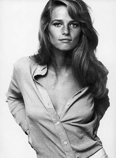 Young Candice Bergen.