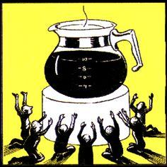 All hail coffee. #coffee #java #caffeine #blackcoffee #latte #mocha #espresso #coffeebeans #beans #espressobeans #drinkup #cheers #morning #workday #wakeup #letsdothis #herewego #allhail #caffeineismygod #mygod #thursday #almostfriday #thursdaymorning