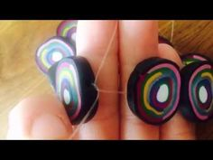Armband und Ohrringe einmal anders (basteln leicht gemacht) - YouTube