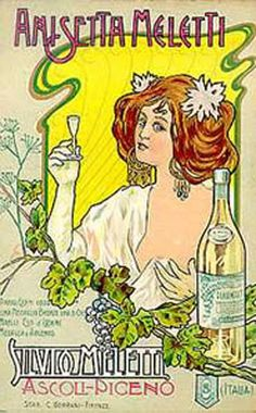 Arte Liberty in Italia - Manifesti, i.e., Italian Art Nouveau poster