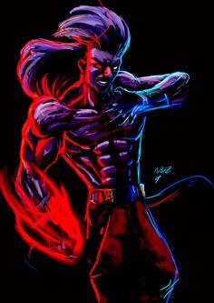King Of Fighters, Deadpool, Illustrations, Superhero, Comics, Artwork, Fictional Characters, Drawings, Work Of Art