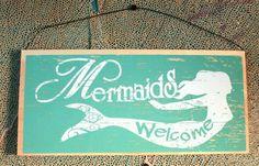 Mermaid sign.