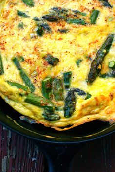 Gluten-Free Roasted Asparagus Tart Recipe — Dishmaps