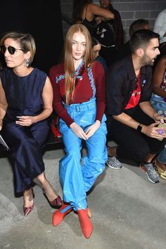 90d8d5f60 Larsen Thompson Photos Photos: 3.1 Phillip Lim - Front Row - September 2017  - New York Fashion Week
