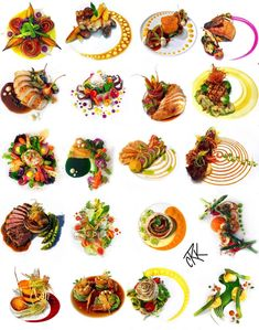 Fancy Food Presentation, Gourmet Food Plating, Food Plating Techniques, Creative Food Art, Masterchef, Modern Food, Food Carving, Food Garnishes, Food Platters
