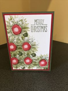 Stampin Up, Merry Christmas, Cover, Frame, Home Decor, Art, Merry Little Christmas, Homemade Home Decor, Merry Christmas Love