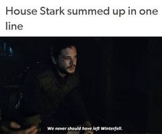 There are a lot of Starks alive for a house that is supposedly decimated