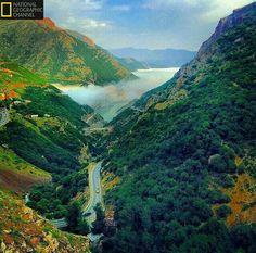ایران،سیاه بیشه،جاده چالوس Siah bisheh- Chalous road,Iran