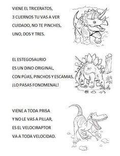 Dinosaurios para niños preescolar - Imagui Dinosaur Songs, Dinosaur Theme Preschool, Dinosaur Activities, Preschool Crafts, Toddler Activities, Dinosaur Projects, Dinosaur Crafts, Dinosaur Bulletin Boards, Dino Craft