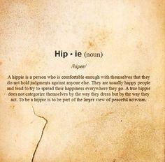 Hippie defined...